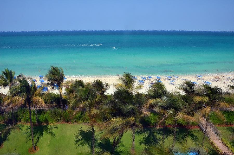 Miami Beach Photograph