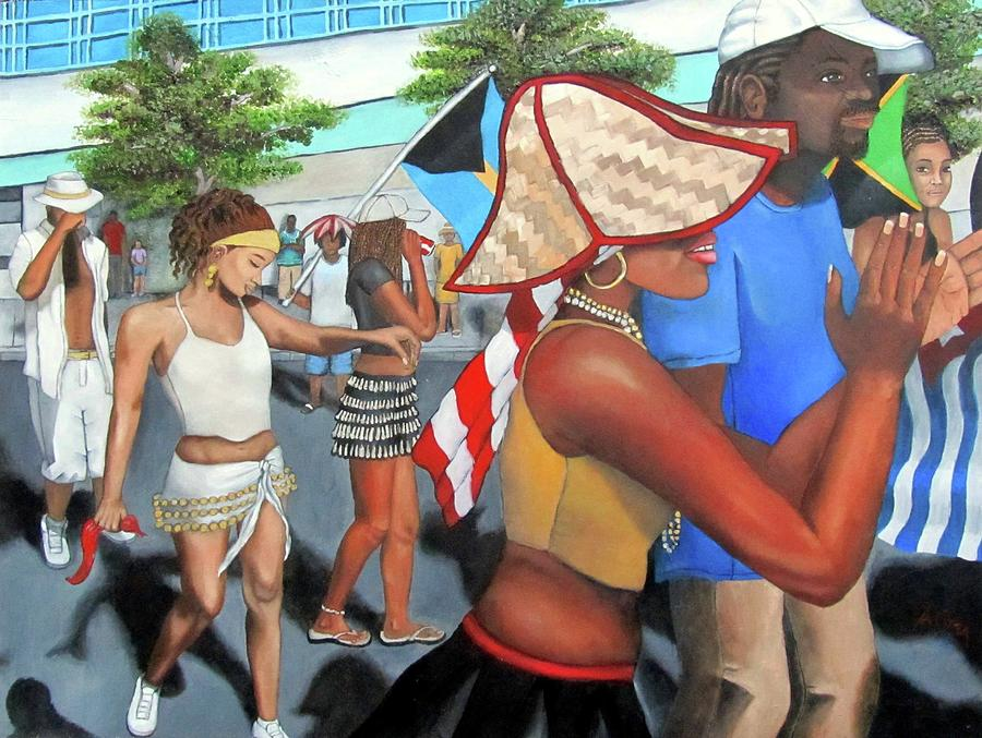 Miami Carnival Painting