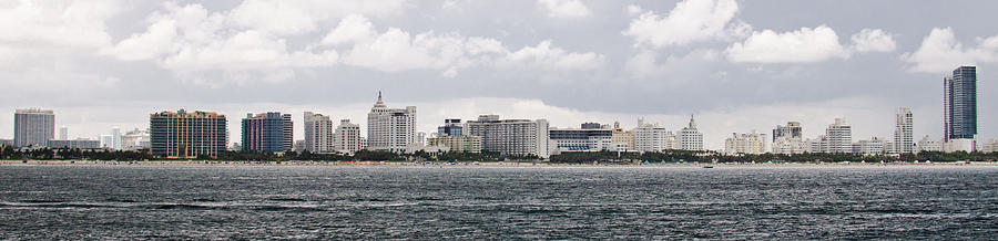 Miami Cityscape Photograph  - Miami Cityscape Fine Art Print