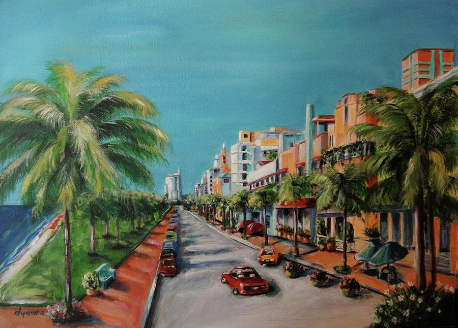 Miami For Daisy Painting