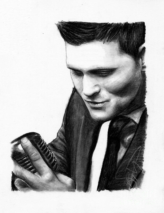 Michael Buble Drawing