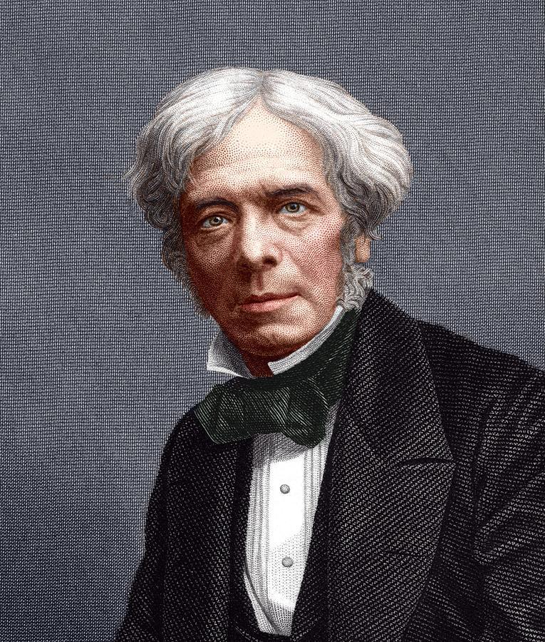 Faraday Photograph - Michael Faraday, English Chemist by Sheila Terry