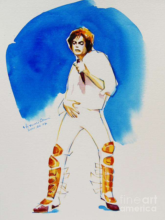Michael Jackson - 30th Anniversary Painting  - Michael Jackson - 30th Anniversary Fine Art Print