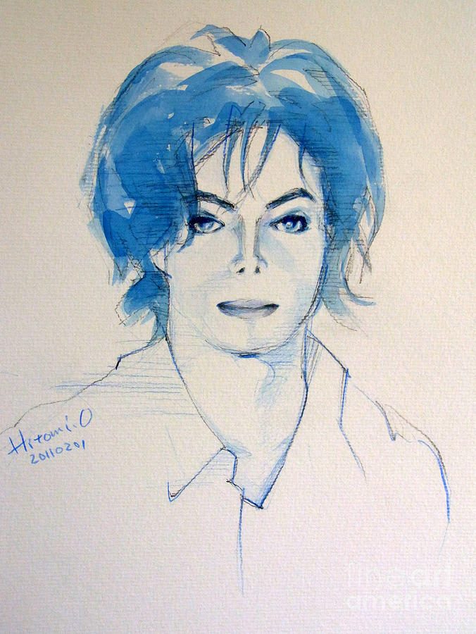 Michael Jackson - Gimme Your Wings Painting