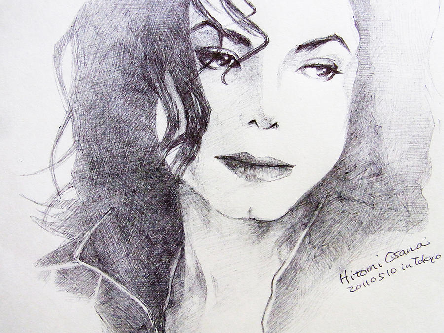 Michael Jackson - Nothing Compared To You Drawing