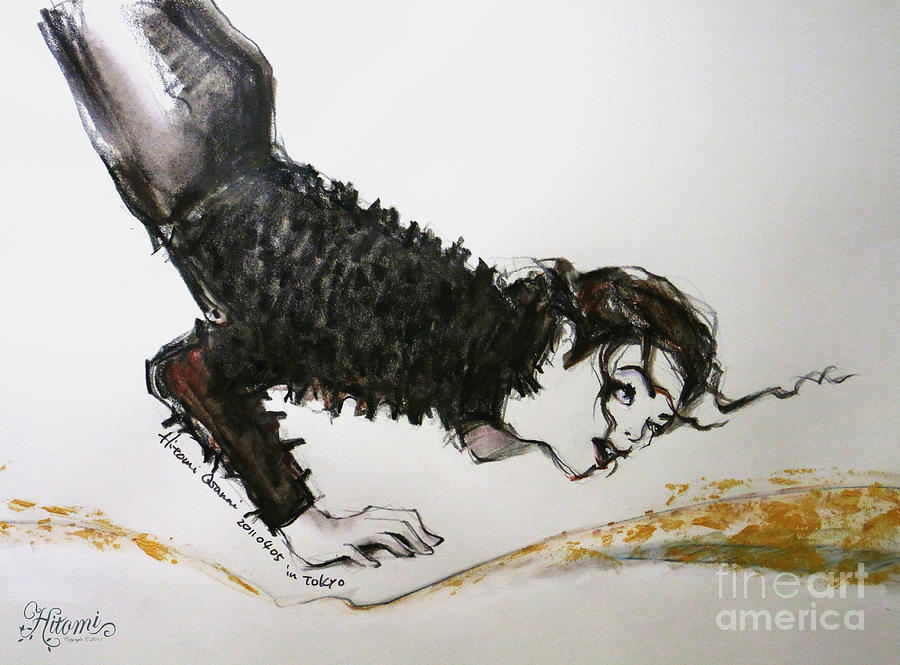 Michael Jackson - Ridiculous Spring Painting  - Michael Jackson - Ridiculous Spring Fine Art Print