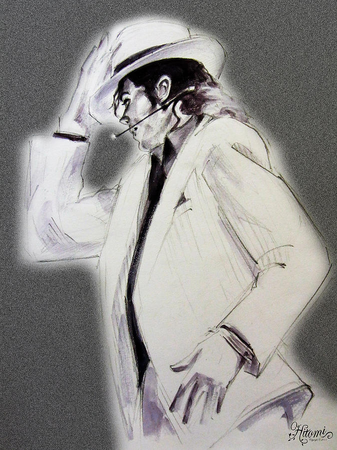 Michael Jackson - Smooth Criminal In Tii Drawing
