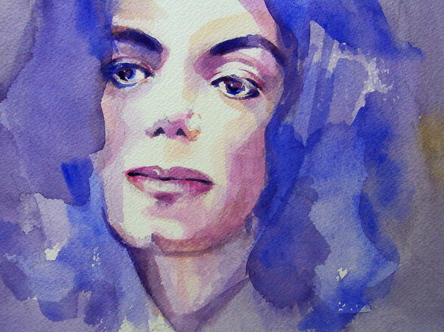 Michael Jackson - Take 5 Painting  - Michael Jackson - Take 5 Fine Art Print