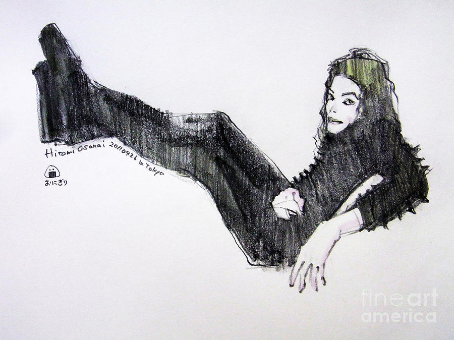 Michael Jackson - Turn It On Painting  - Michael Jackson - Turn It On Fine Art Print