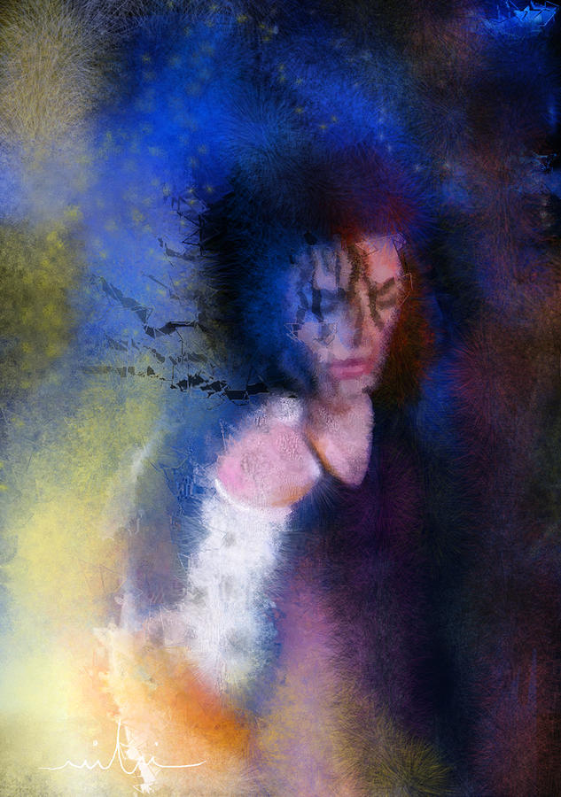 Michael Jackson 16 Painting