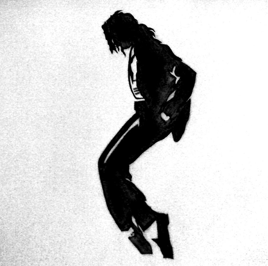 how to draw michael jackson doing the moonwalk