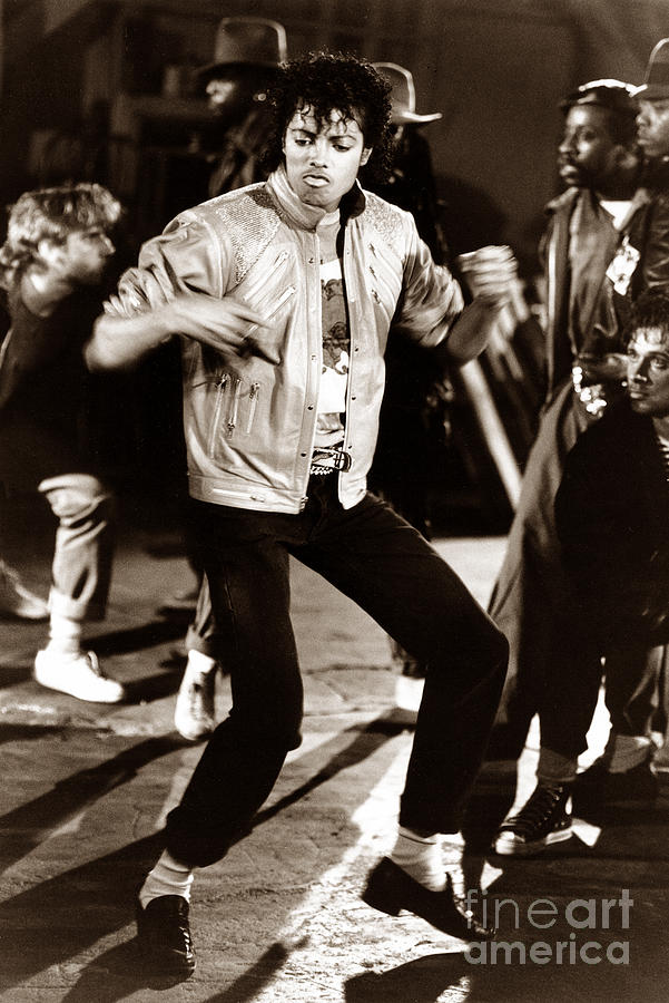 Michael Jackson Moves Photograph  - Michael Jackson Moves Fine Art Print