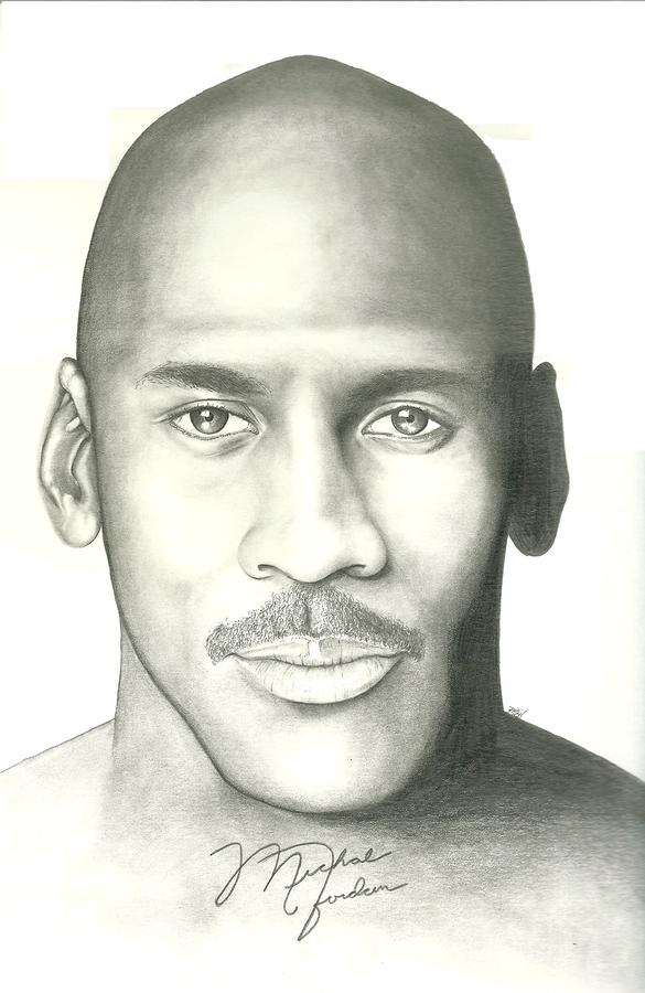 Michael Jordan Drawing