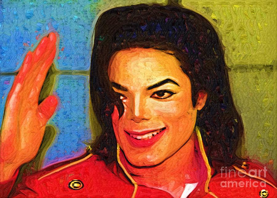 Michaell Jackson Good Days Painting  - Michaell Jackson Good Days Fine Art Print