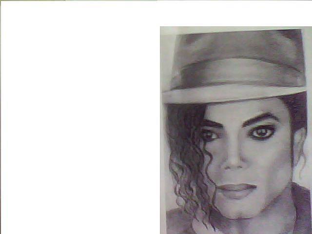 Michal Jackson Drawing