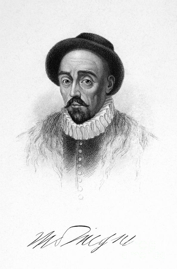 Michel Eyquem De Montaigne Photograph