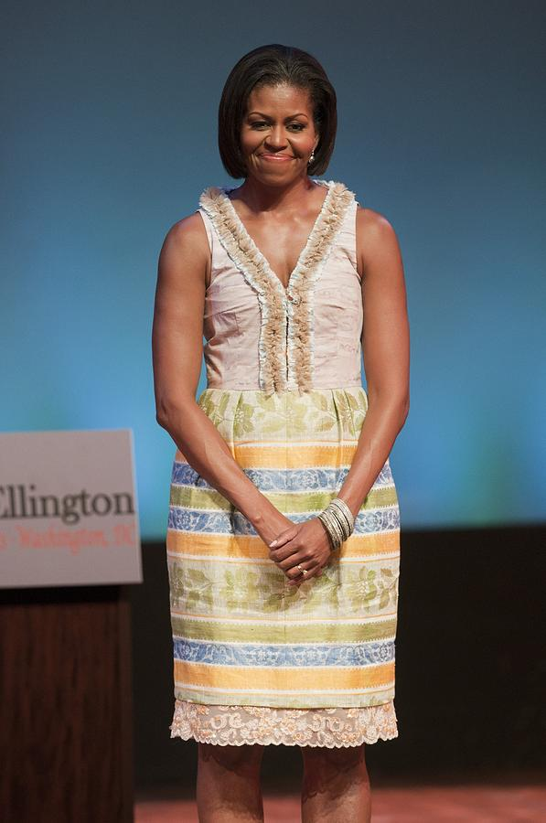 Michelle Obama In Attendance For Lady Photograph