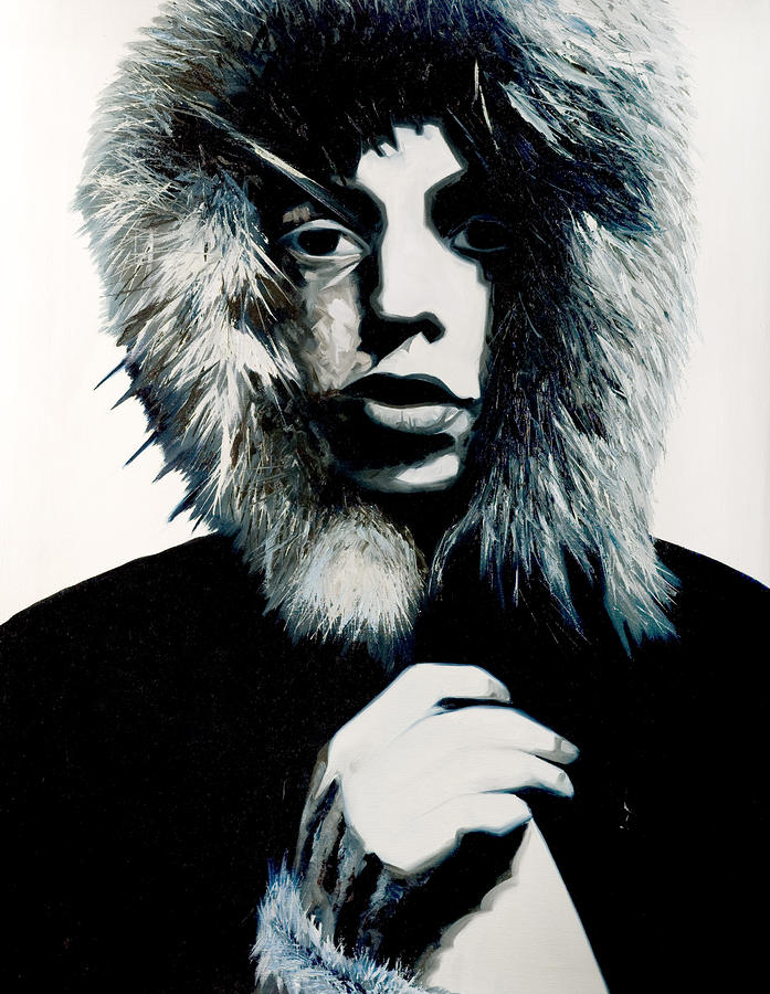 Mick Jagger - Rolling Stones Painting