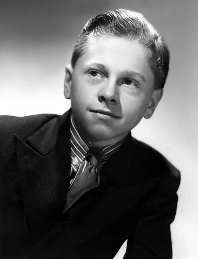 1940s Portraits Photograph - Mickey Rooney, 1936 by Everett