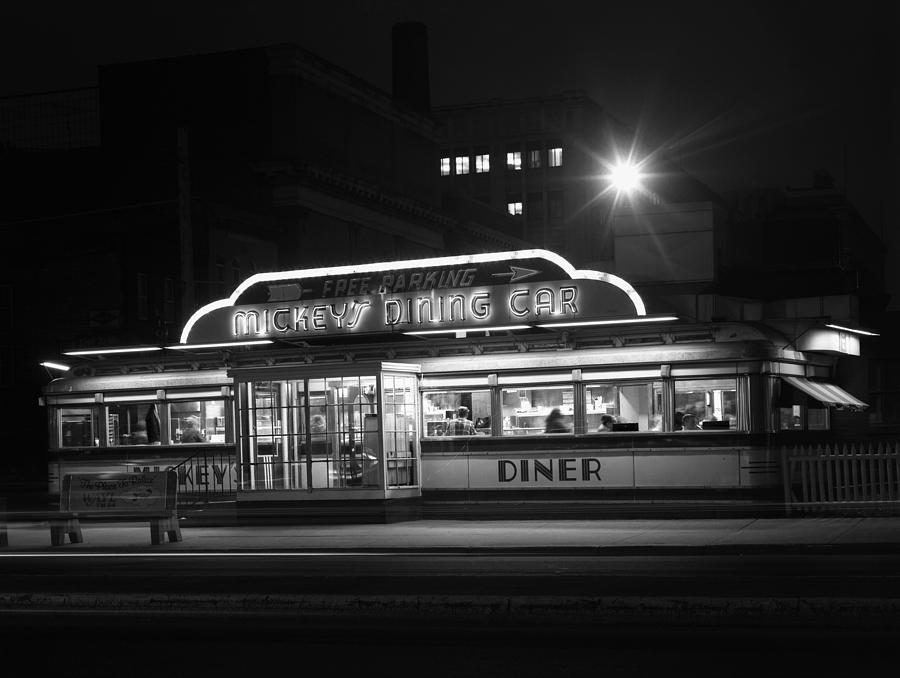 Mickeys Diner St.paul Mn Photograph