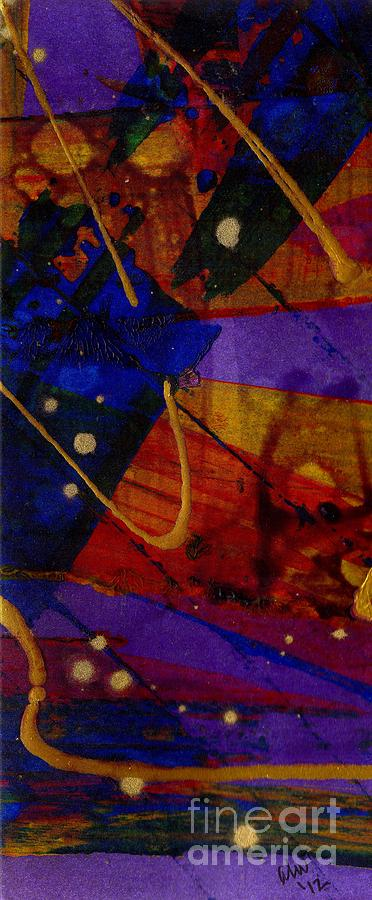 Mickeys Triptych - Cosmos IIi Painting