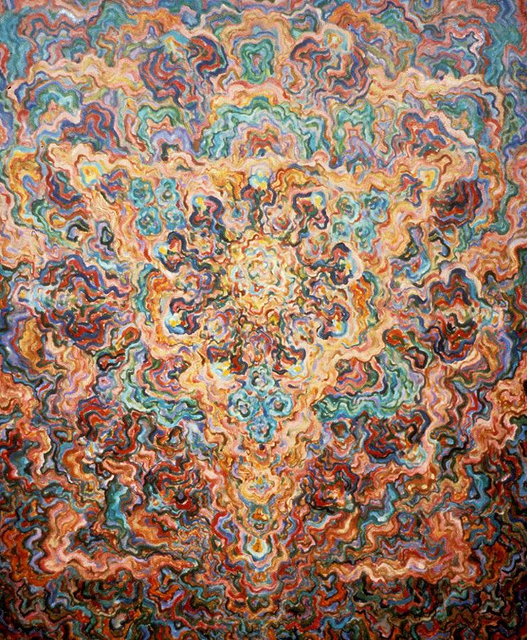 Symbolist Painting - Microcosmos by Daniel Gautier