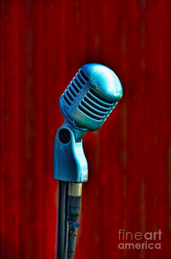 Microphone Photograph