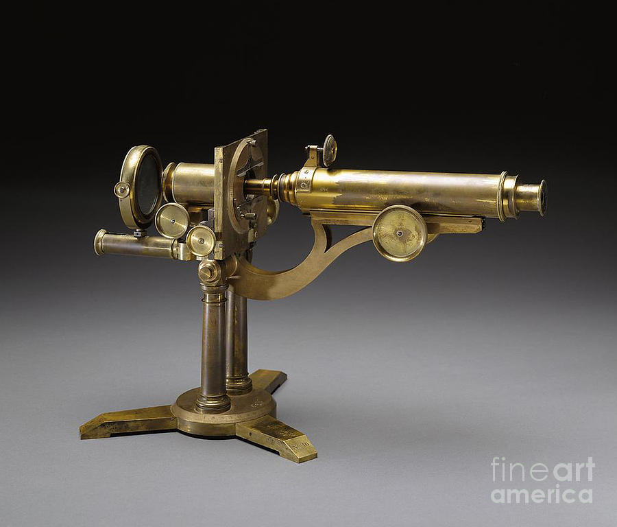 Microscope, 1864 Photograph