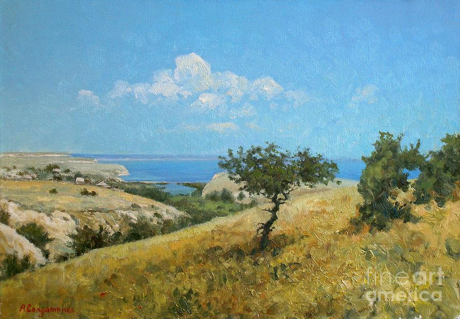 Midday On The Volga Painting