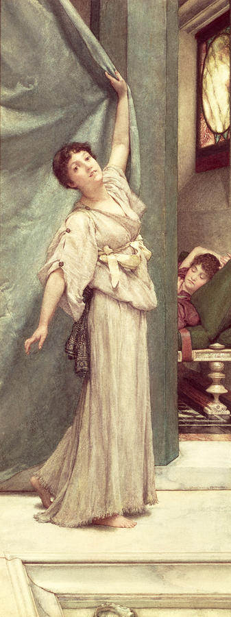 Midday Painting - Midday Slumbers  by Sir Lawrence Alma-Tadema