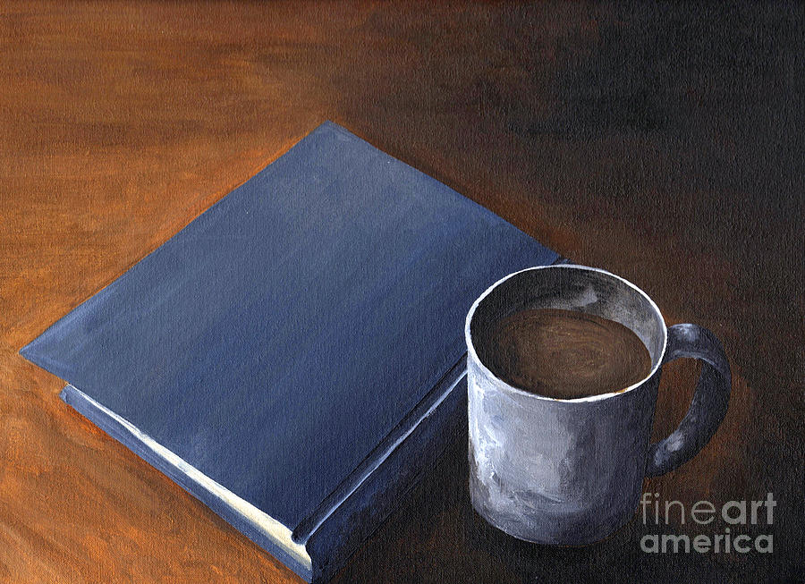Midnight Reading Painting  - Midnight Reading Fine Art Print