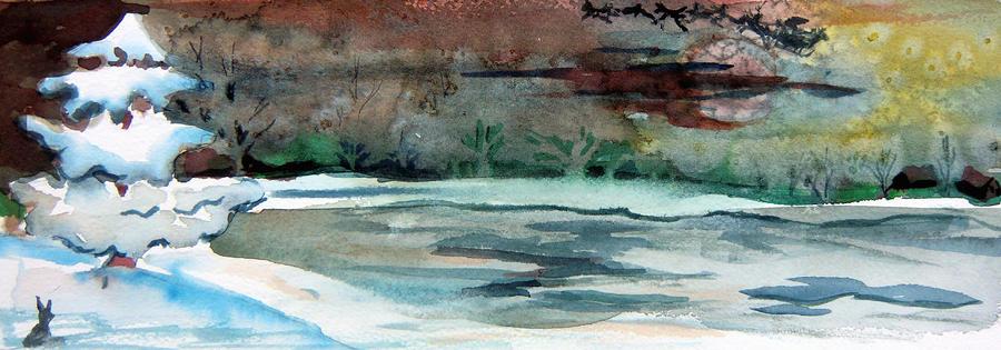 Midnight Rider Painting