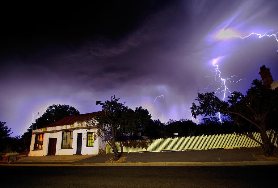 Midnight Storm Photograph