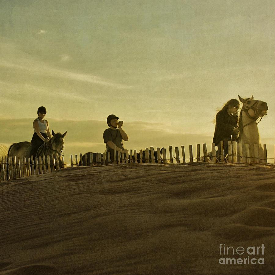 Midsummer Evening Horse Ride Photograph