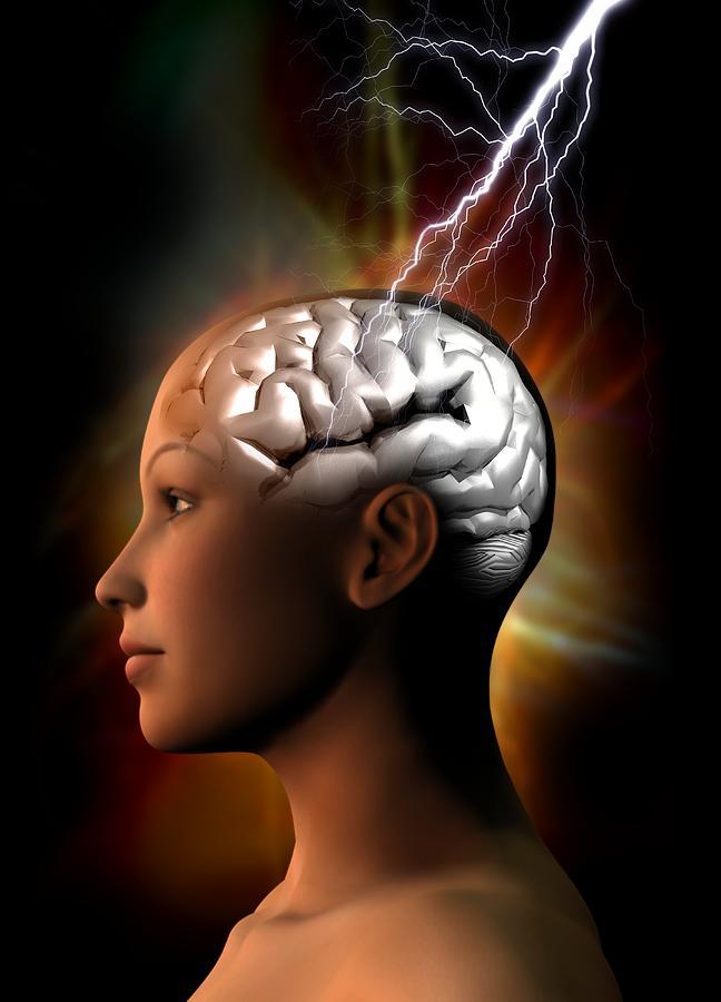Migraine, Conceptual Artwork Photograph