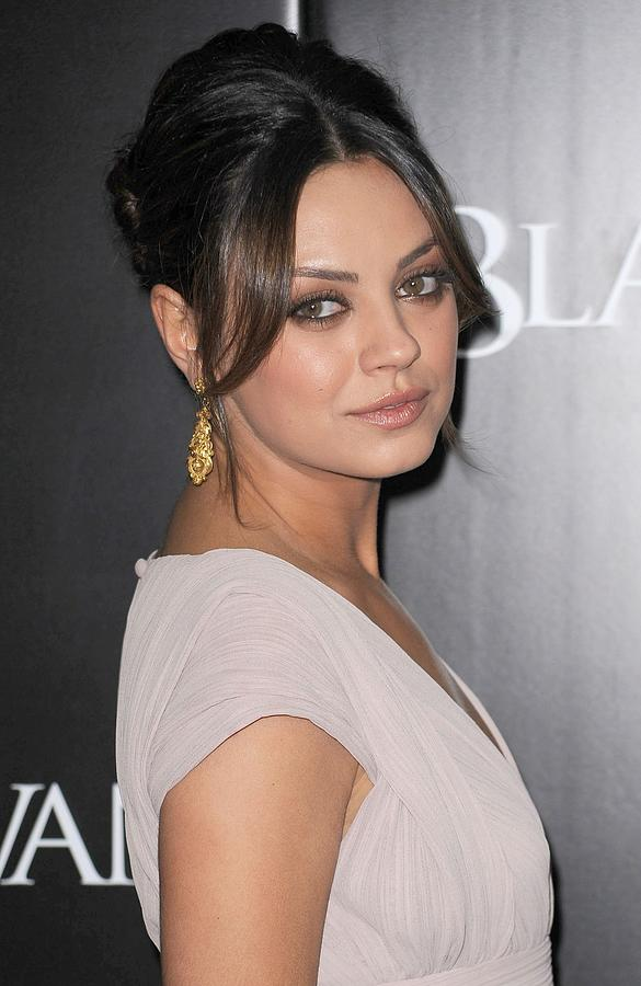 Mila Kunis At Arrivals For Black Swan Photograph  - Mila Kunis At Arrivals For Black Swan Fine Art Print