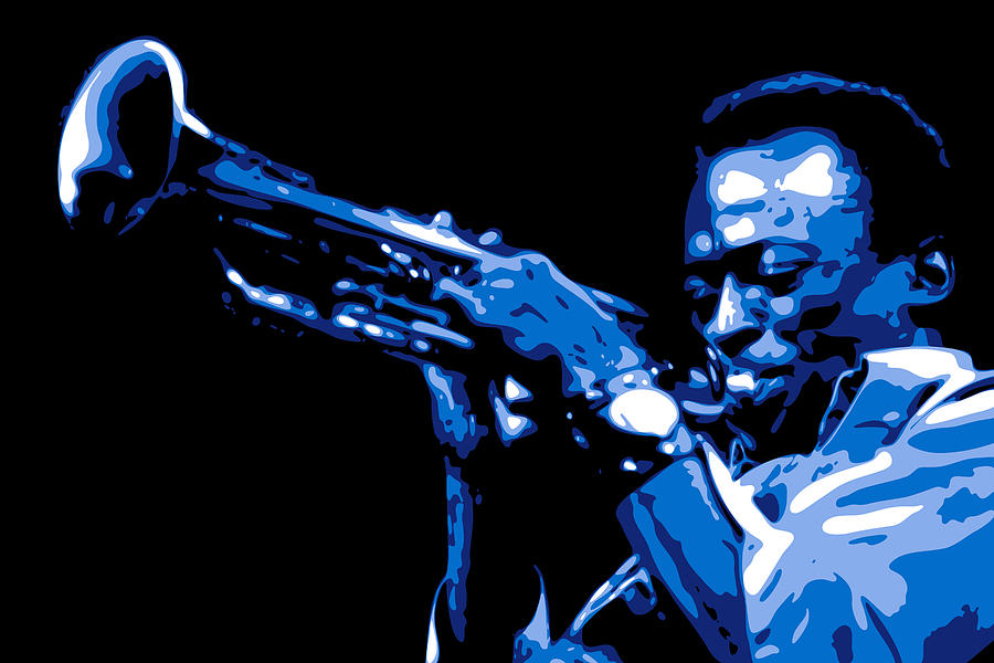 Miles Davis Digital Art
