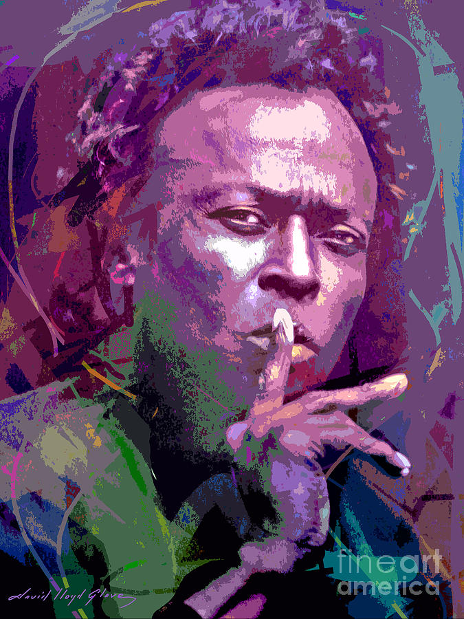 Miles Davis Silence Painting