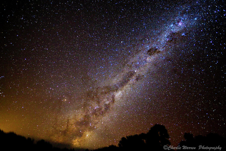 Milky Way Down Under Photograph