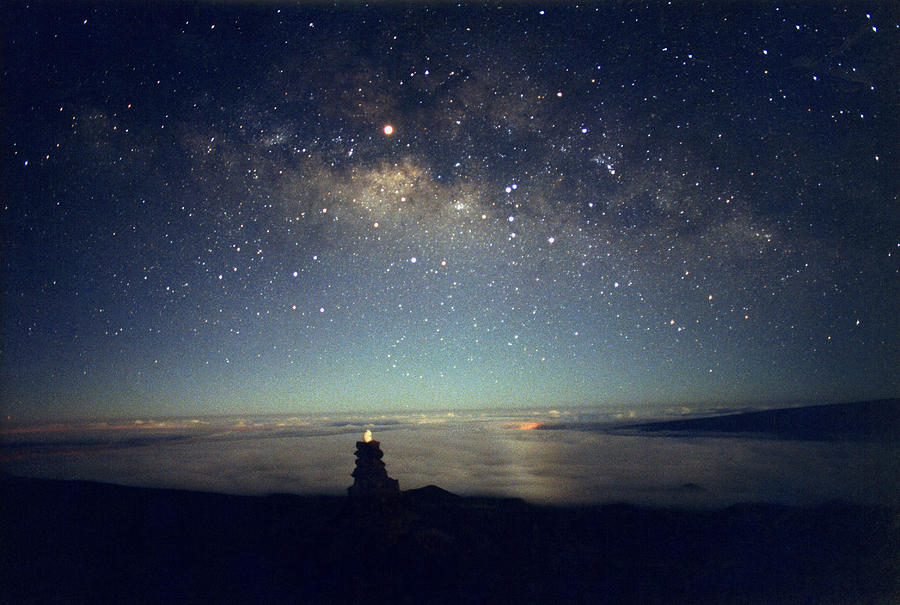 Milky Way Photograph - Milky Way by Magrath Photography