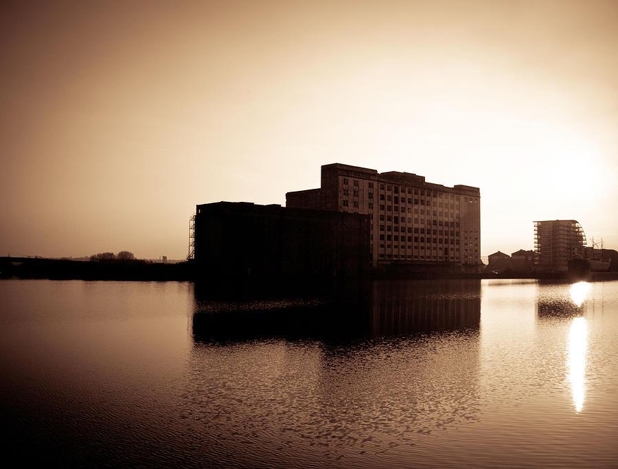 Millenium Mills Warehouse Photograph