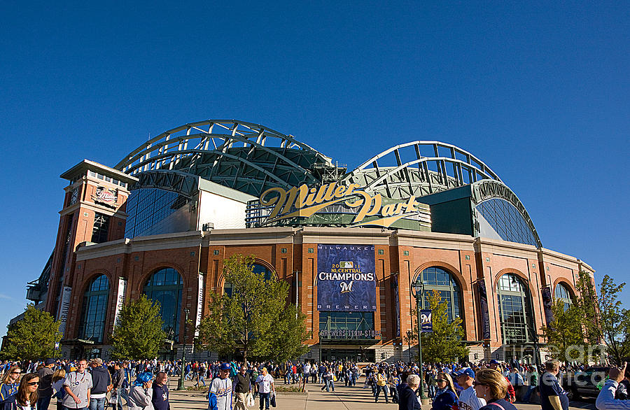 Miller Park Milwaukee Photograph  - Miller Park Milwaukee Fine Art Print