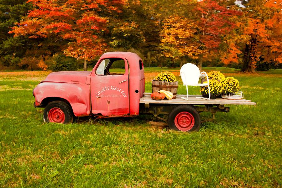 Millers Truck Digital Art