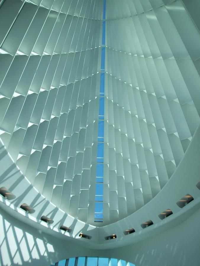 Milwaukee Art Museum Interior Photograph