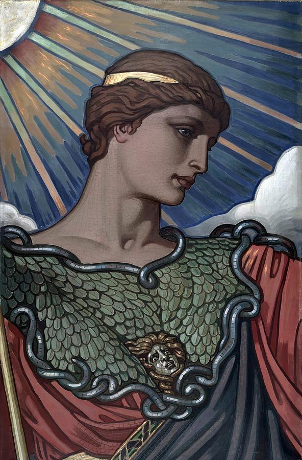 Minerva  Goddess Of War And Roman PhotographMinerva Roman Goddess