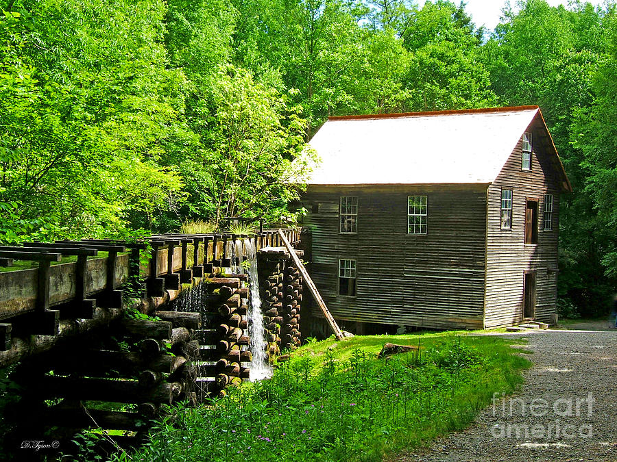 Mingus Mill Photograph  - Mingus Mill Fine Art Print