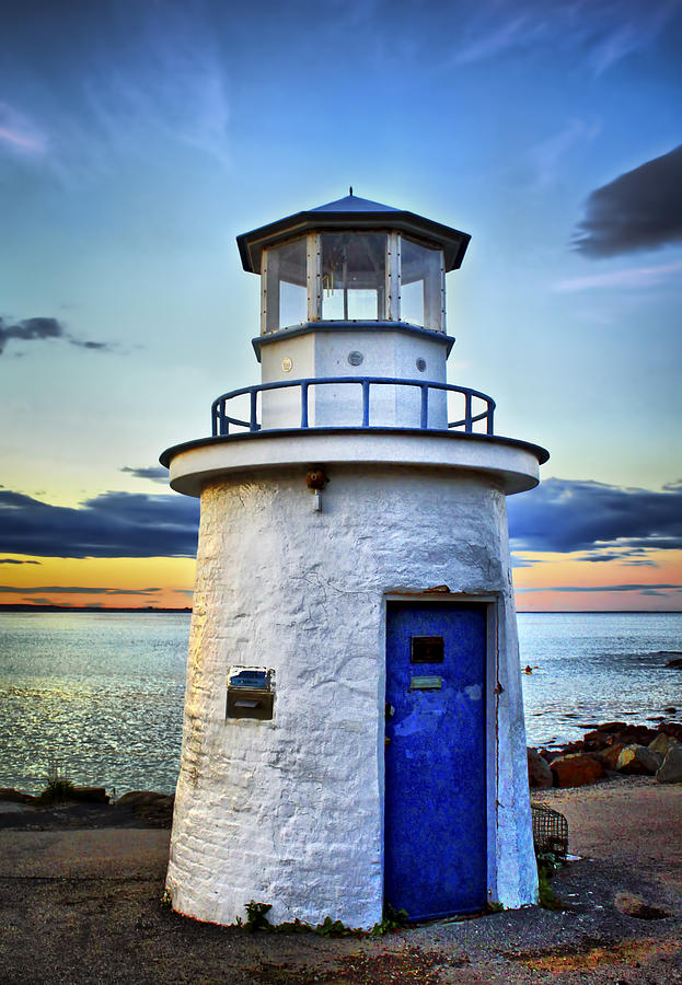 Miniature Lighthouse Photograph  - Miniature Lighthouse Fine Art Print