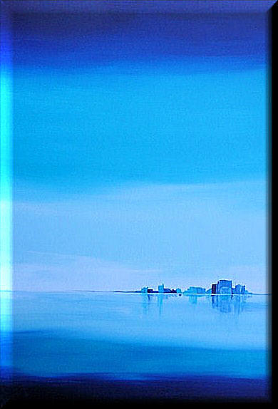 Minimalist landscape by lilly schroeter for Minimal art landscape