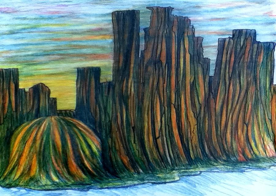 Minne Valley Drawing