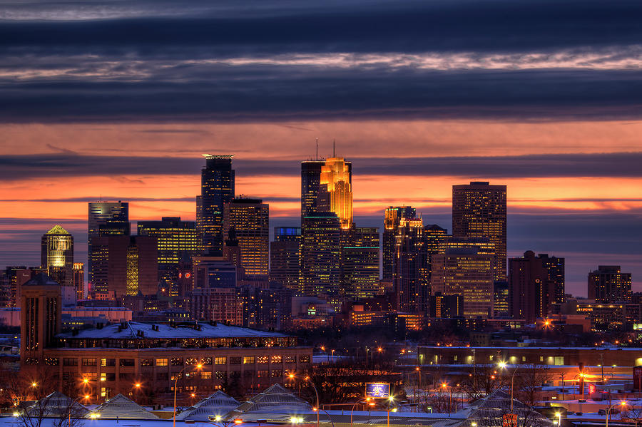 Minneapolis Skyline Photograph